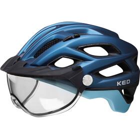 KED Covis Lite Helmet nightblue lightblue matt